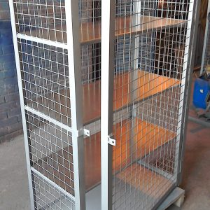 Secure Display Cage for Spirits