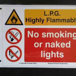LPG Warning Sign