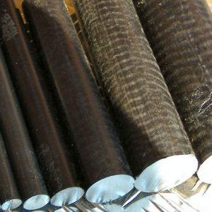 PVC Round Bar (Black)
